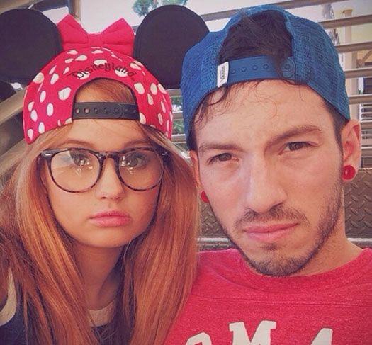 Debby Ryan debuts her boyfriend at Disneyland!