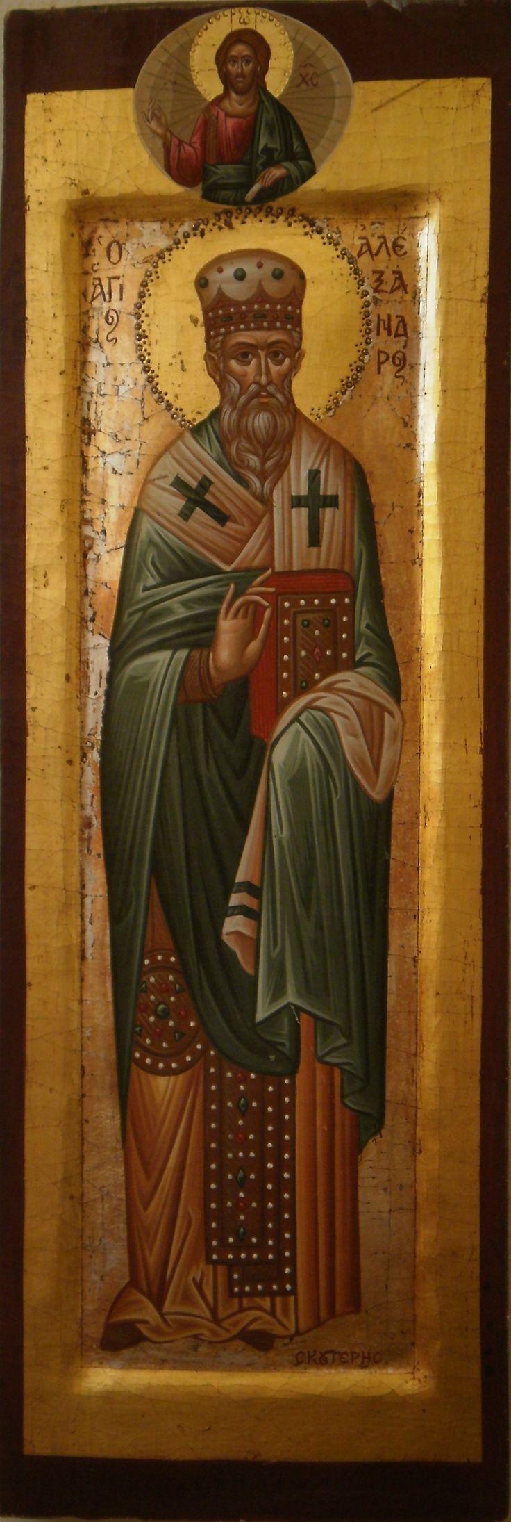 Saint Alexandros by spiros skouteris