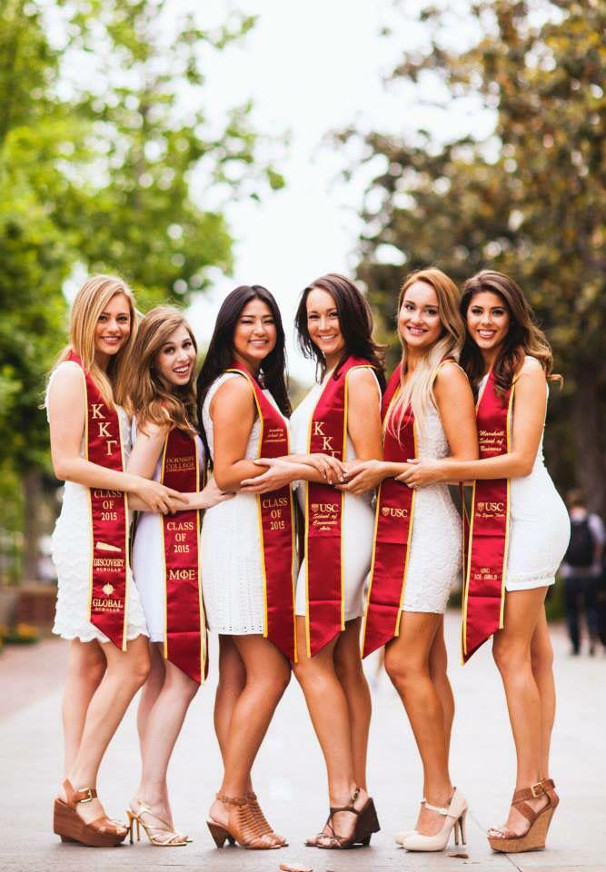 Senior Photos -- sorority graduation