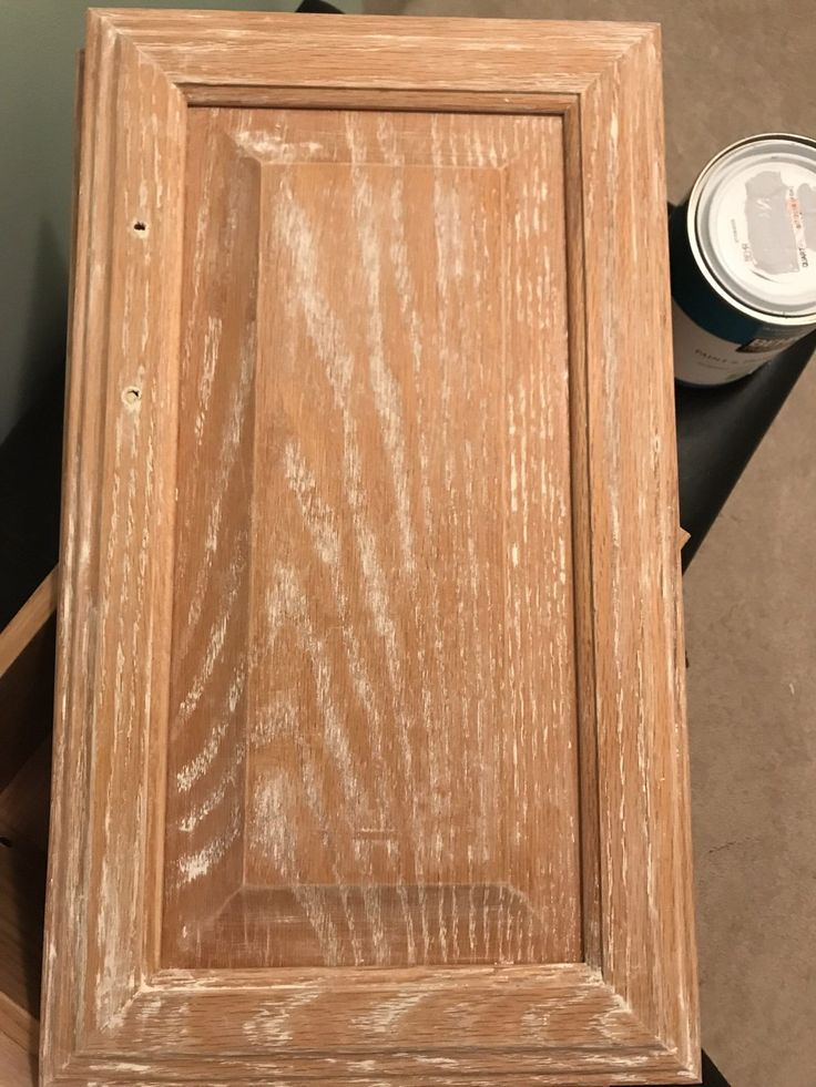 How to paint oak without the grain showing in