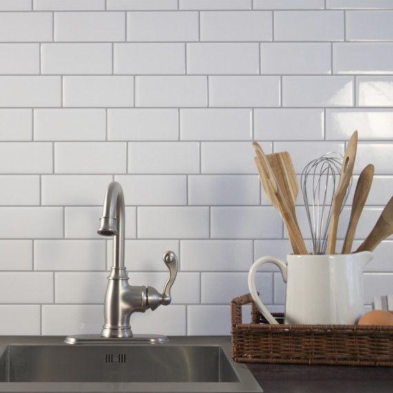 Smart Tiles Metro Campagnola Dosseret De Cuisine Autocollant