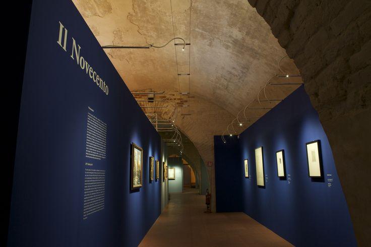 """Allestimento mostra """"Capolavori della Johannesburg Art Gallery. Da Degas a Picasso"""", fino al 19 luglio 2015 alle Scuderie del Castello Visconteo di Pavia. www.scuderiepavia.com"""