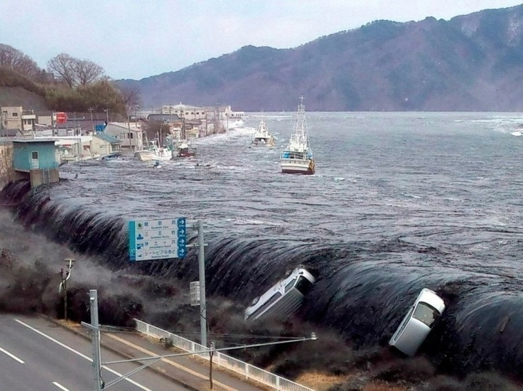 Tsunami Japan...we forget the force of nature and the strength that it holds until days like this day.
