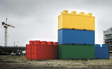 LEGO Shipping Containers