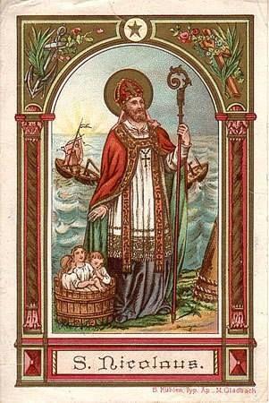 #micasa Hoy celebramos a San Nicolás, el verdadero Santa Claus o Papá Noel Fiesta: 6 de Diciembre