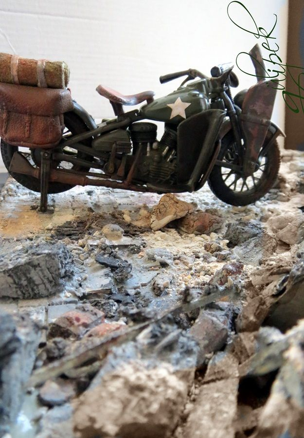 15 best Harley-Davıdson 1942 images on Pinterest | Diorama, Dioramas ...