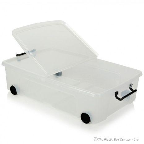 Underbed Storage Box With Wheels