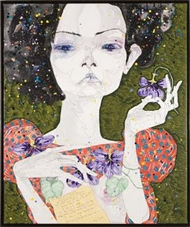 Del Kathryn Barton  - she intrigues me.