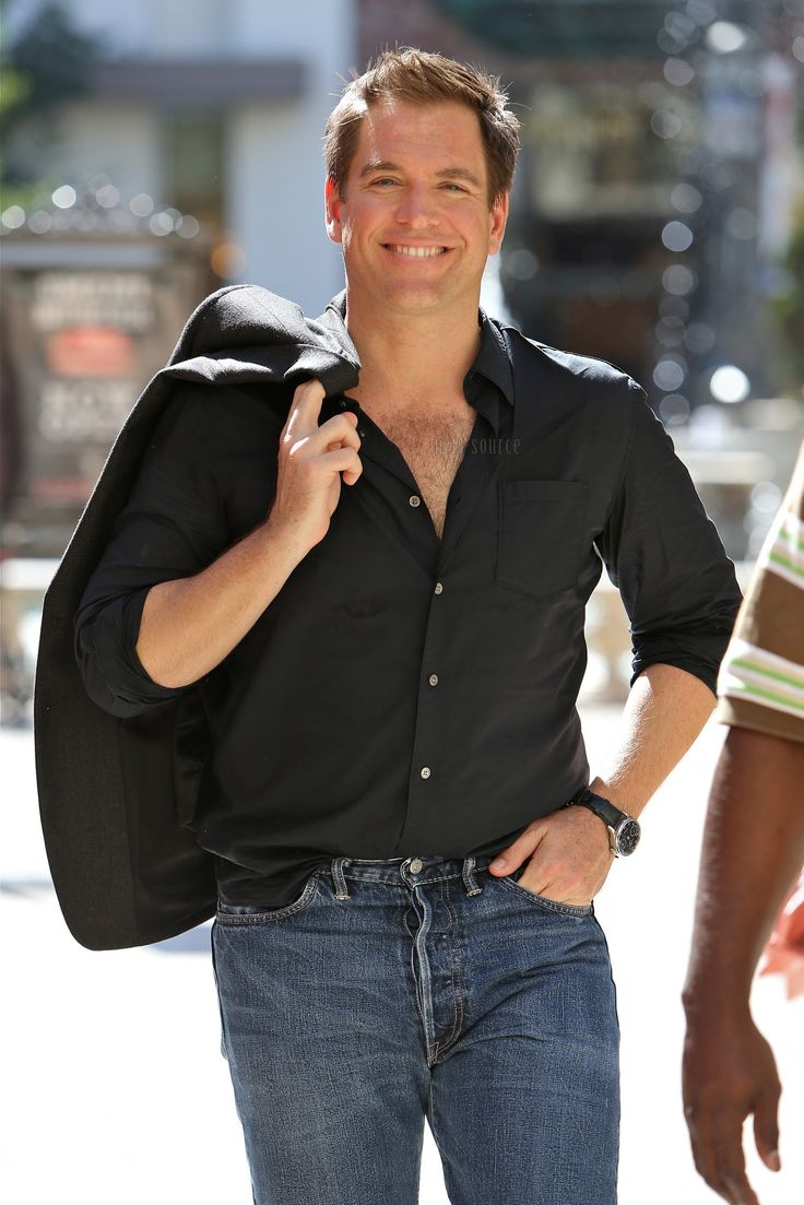 "Michael Weatherly, ""NCIS"" Mmmm mmmmm mmmm The reason I watch it"
