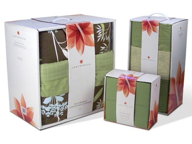 Best Bedding Package Design Images On Pinterest Design