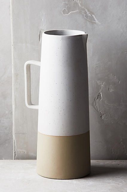 @pehrdesigns #pehrtablescapes $78 -- Morandi Pitcher - anthropologie.com