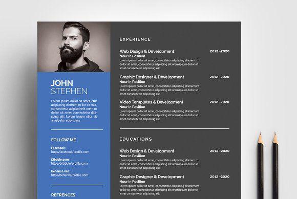 Basic Resume Template  @creativework247