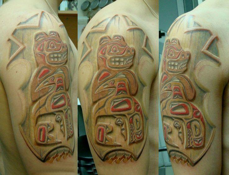 Татуировки Индейские