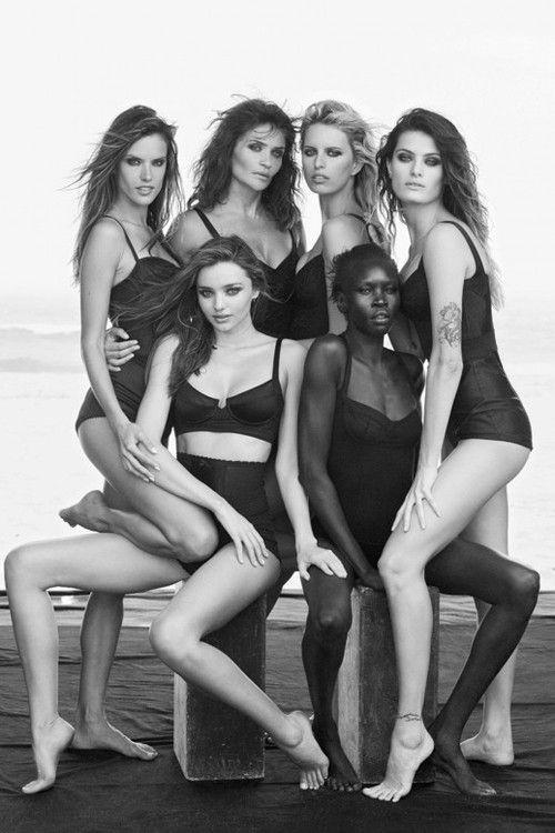 (via Pirelli Calendar 2014   Photography   HUNGER TV) #photography # black #beauty #Pirelli