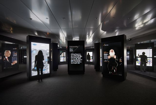 Inside the Exhibit: Film and interactive experience by ibmphoto24, via Flickr