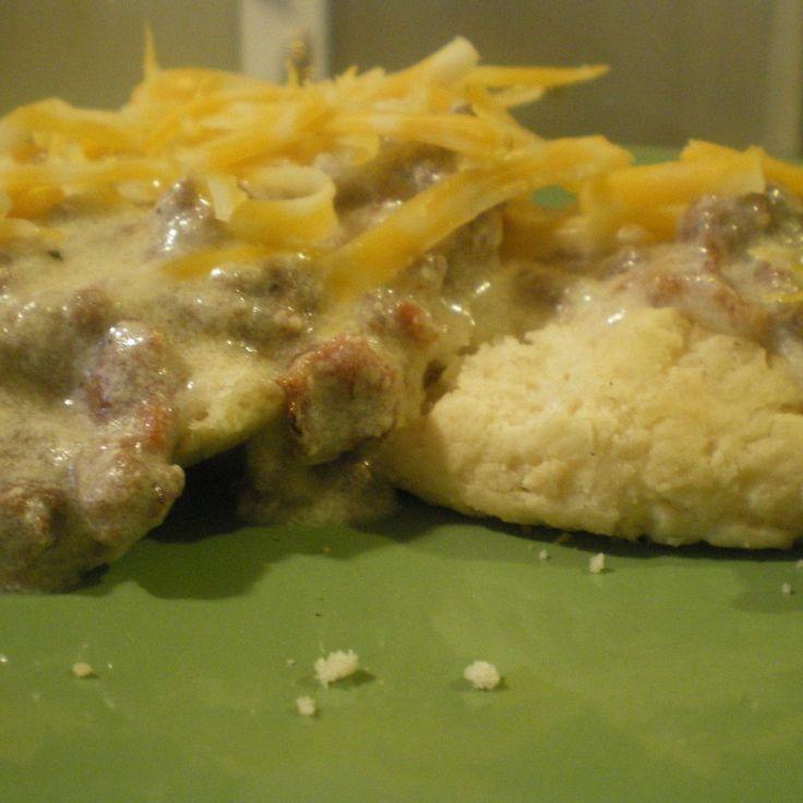 Bacon Cheeseburger Gravy...BC-SOS! #recipe   Justapinch.com