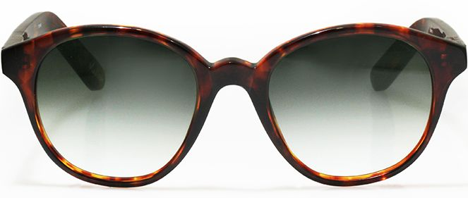 Tortoiseshell never really goes out of style and neither will these sexy little sunglasses with their classic curvaceous lines and strong yet feminine structure. If there were one pair of shades guaranteed to enhance almost every woman's face it would be Madison. Perfect for picnicking with friends, these tortoiseshell print shades are classy enough to go with almost everything in your wardrobe from those indigo skinny jeans to that fabulous fifties floral nip-waisted dress.