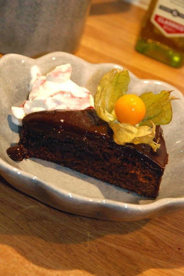 Smaskelismaskens: Pepparkakskladdkaka med chokladglasyr