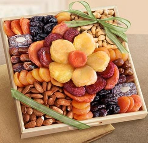 Fruit & Nut Trays at Nut Trays. http://nuttrays.com/fruit-nut-trays.htm