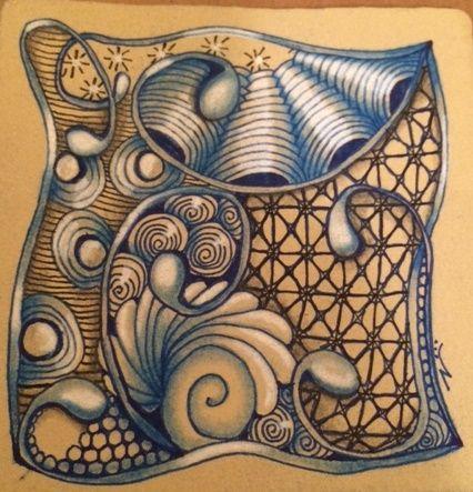 | Mooka | I Teach Tangling | Zentangle | Doodling | Tangle Pattern | Tutorials | How To |