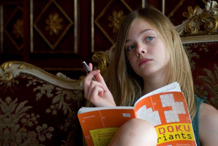 Somewhere (Elle Fanning) by Sofia Coppola.