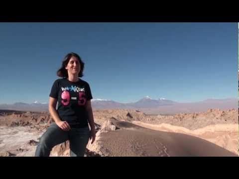 Moon Valley in the Atacama Desert  #Chile