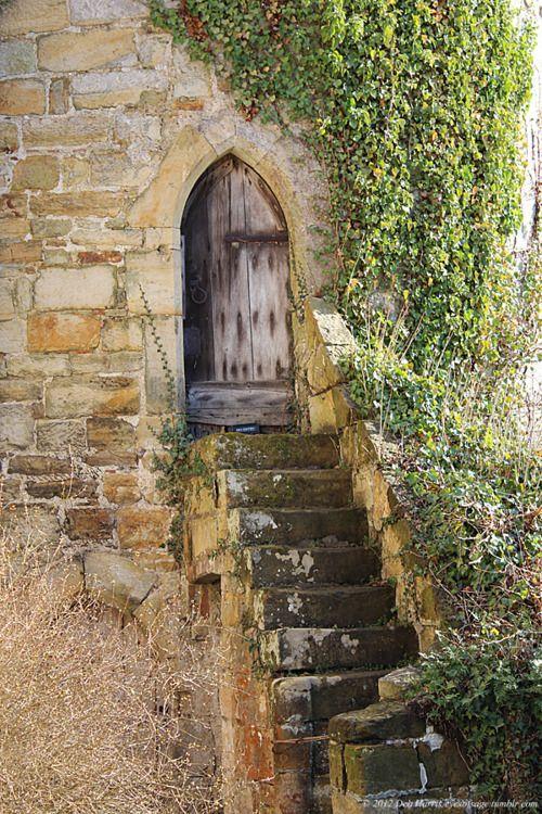 : Back Doors, Hidden Doors, Scotney Castles, Old Church, English Castles, Old Doors, Castles Doors, Old Gates, Wood Doors