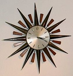 Metamec sunburst clock, 1960s - My nan had one of these....and now I want one!