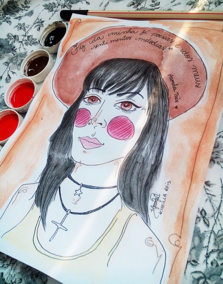 #Inktober - Day 17 Marcela Taís