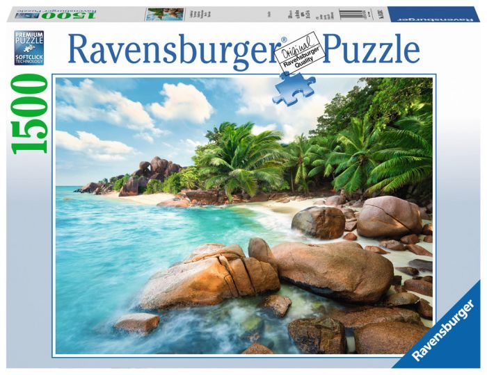 Ravensburger Puzzle 1500pc Beach Bay Ravensburger Puzzle Ravensburger Puzzle