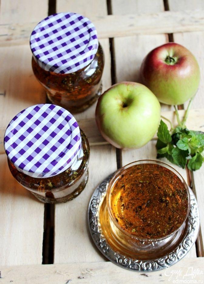 Яблочно-мятное желе | Кулинарные рецепты от «Едим дома!»
