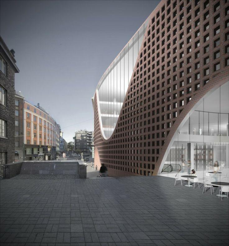 The University of Helsinki City Campus Library / Anttinen Oiva arkkitehdit
