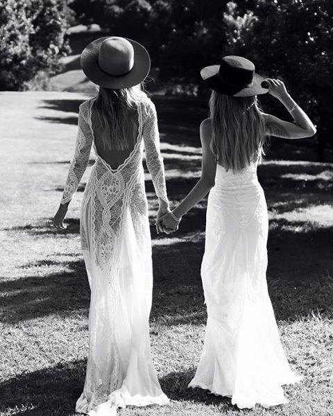 Viva La Vida! INCA + SAMBA, two gowns that rule our world   stylist@graceloveslace.com.au #graceloveslace #theuniquebride