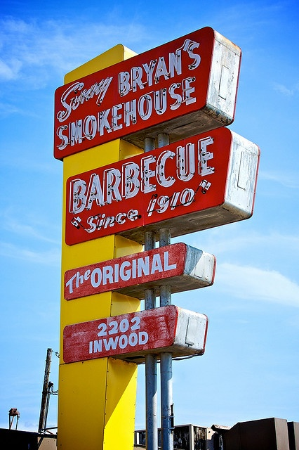 Except it was originally Red Bryant's Smokehouse. Sonny is his son.