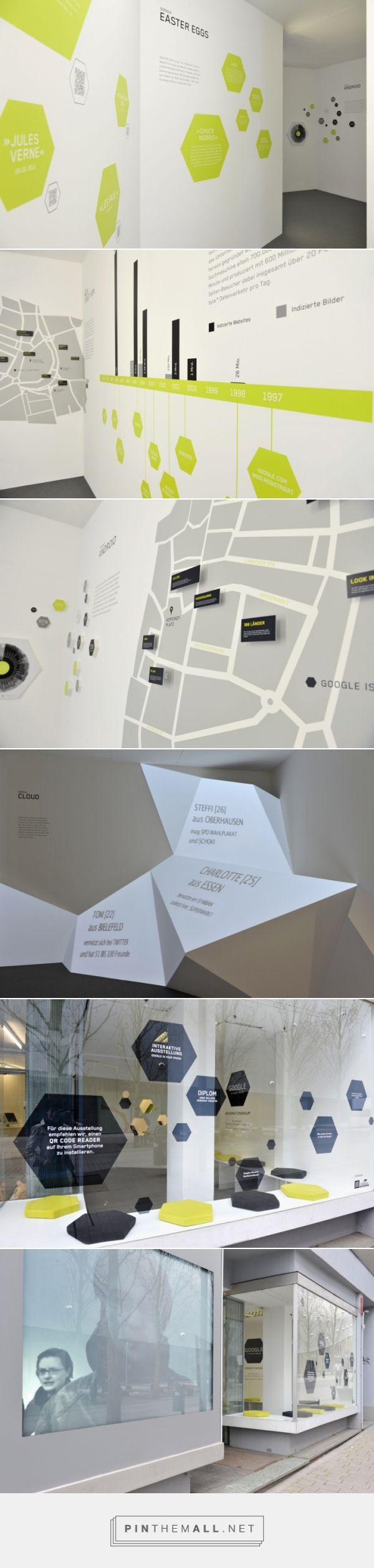 Google is your friend interactive exhibition by Anke Willsch & Deborah Taranto, Essen – Germany » Retail Design Blog - created via http://pinthemall.net