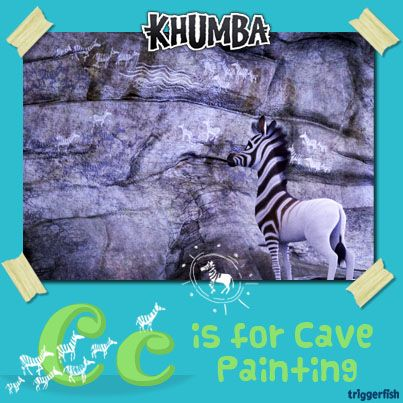 Hi Khumba Kids, Did you know the San people decorated their caves with rock paintings using paint made from egg white and colours from ground up rocks?