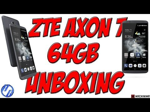 ZTE AXON 7 UNBOXING AND SETUP! IS IT WORTH THE PRICE??