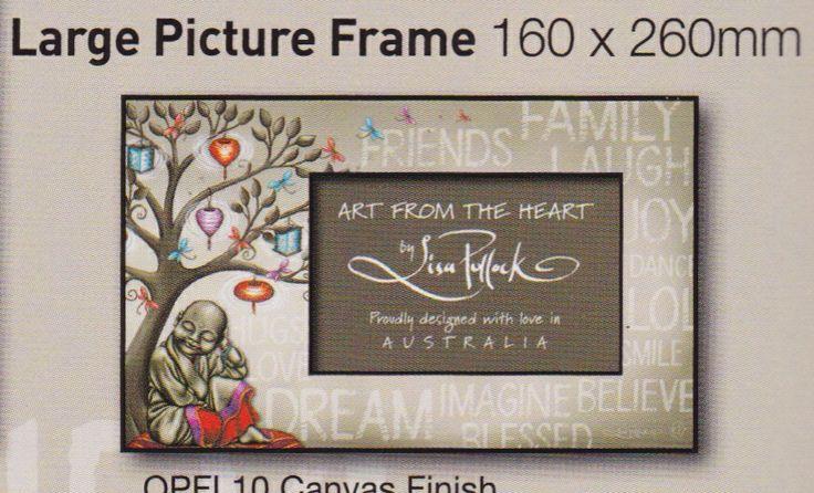 Large photo frame - $25 plus postage $6.95 Australia wide