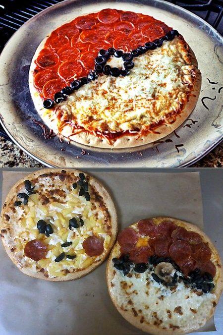 Pokemon Pizza cute-fancy-looking-food
