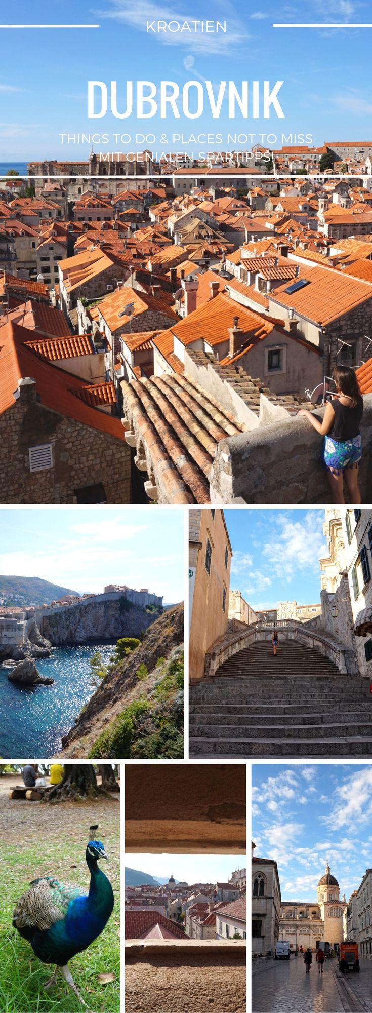 Reisebericht Dubrovnik. Entdecke mit uns die schönsten Sehenswürdigkeiten in der Altstadt und drumherum. Heimliches Highlight: die Insel Lokrum mit ihreren Hasen und Pfauen. Bei deinem Urlaub oder deiner Backpacking Reise durch Dalmatien sollte ein Abstecher nach #dubrovnik drin sein und mit unseren Spartipps kannst du die Stadt auch günstig erleben! #reise #urlaub #kroatien #europa #backpacking #reisebericht