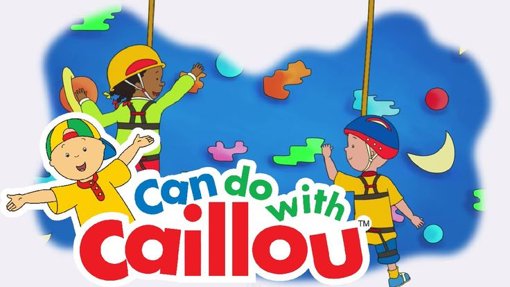 Caillou Can Rock Climb!  Everybody gets a little scared - Watch this week's Can Do with Caillou video to see how Caillou overcomes his fear of Rock Climbing - one step at a time!  Show us how Caillou empowers your kids to take on life's big adventures! Send us photos or videos at Caillou.com/Submit for the chance to be featured!