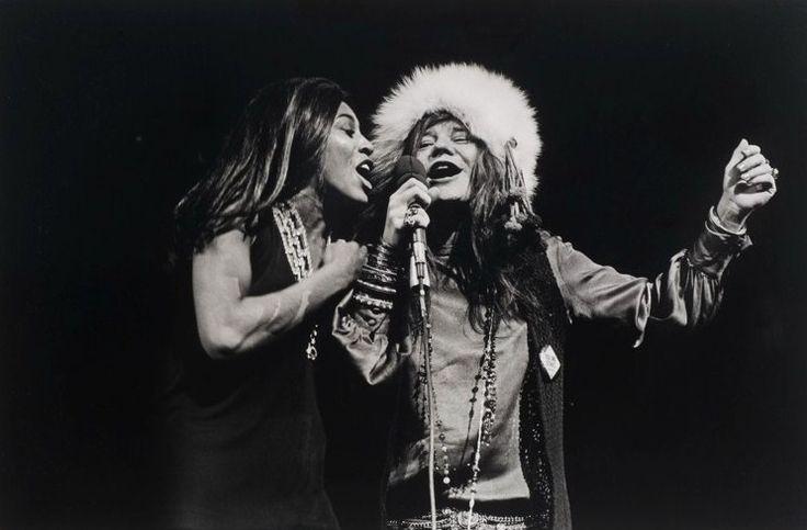 Janis Joplin And Tina Turner Madison Square Garden 1969 By Amalie Rothchild Music