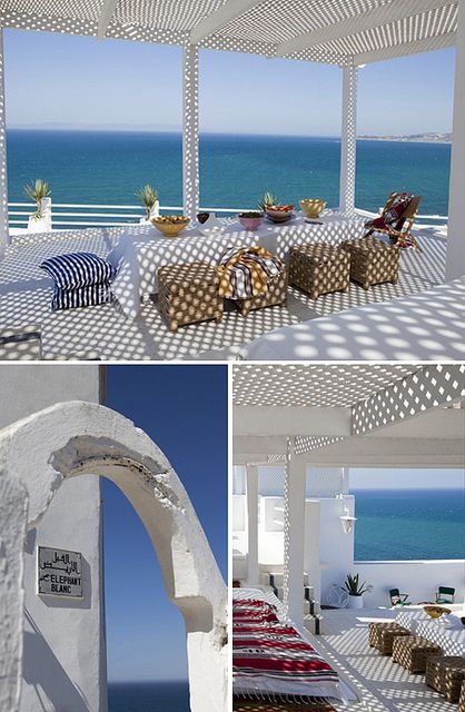 Seaview House Designed By Parsonson Architects: A House With Sea View In Tangier By The Style Files, Via