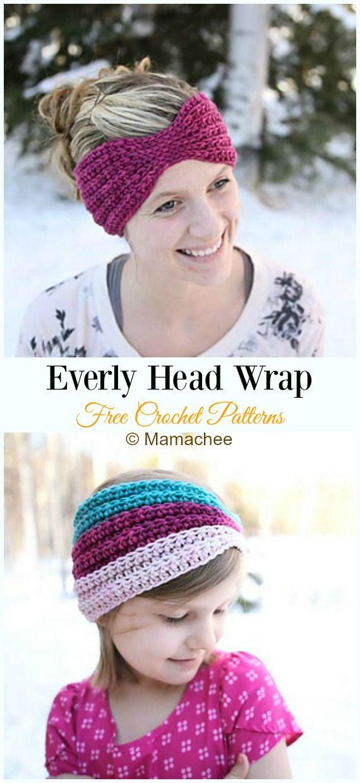 Trending Women Ear Warmer Free Crochet Patterns  – Häkeln