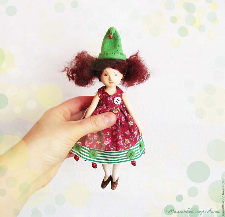 Купить Куколка из сказки - бледно-розовый, кукла ручной работы, кукла, кукла в подарок