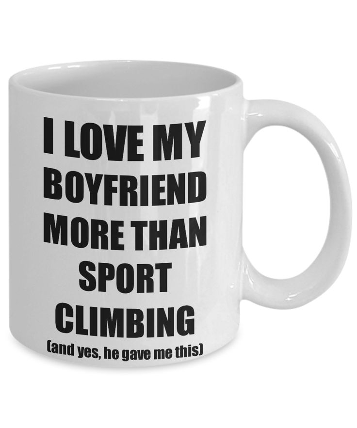 Sport Climbing Girlfriend Mug Funny Valentine Gift Idea For My Gf Lover From Boyfriend Coffee Tea Cup