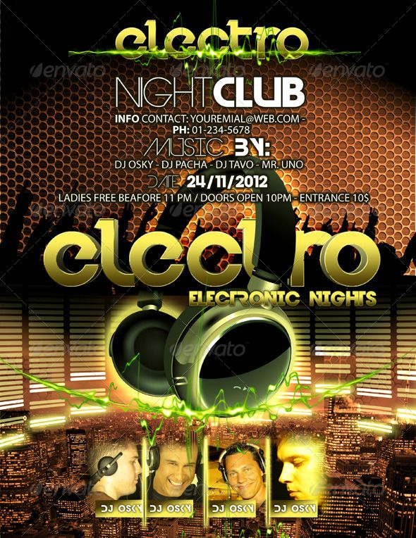 Electro Night Club