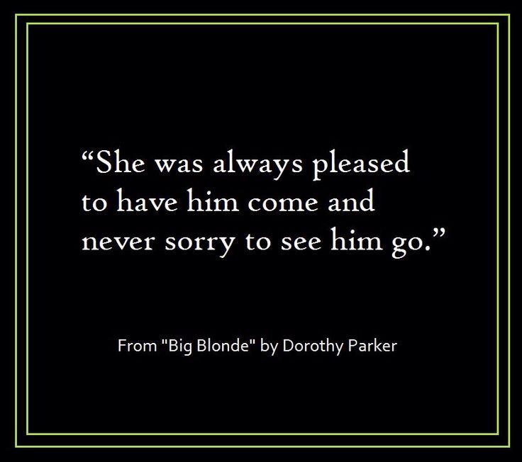 big blonde dorothy parker pdf