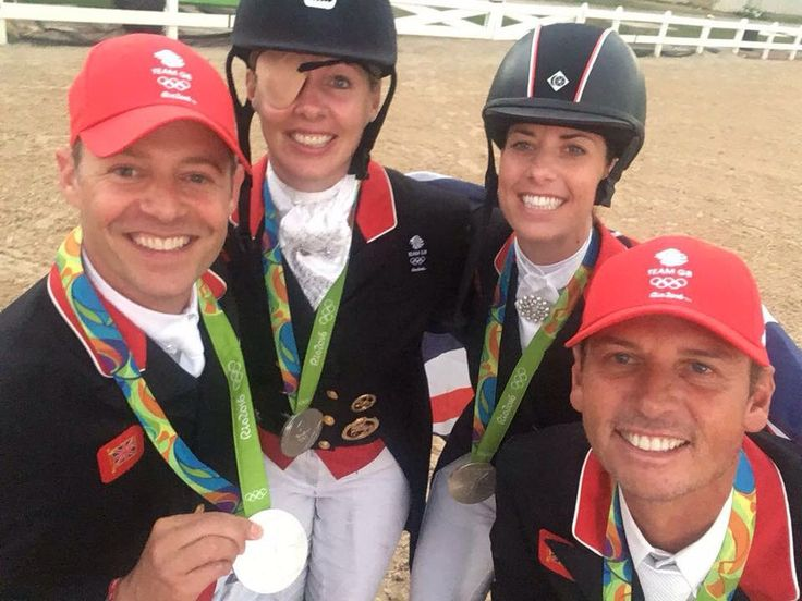 Team GBR's Dressage Olympic Silver Medalists