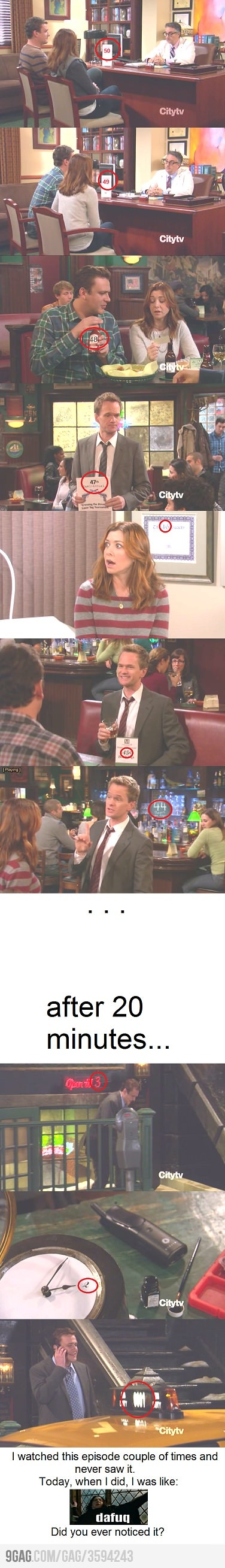 Just HIMYM episode.